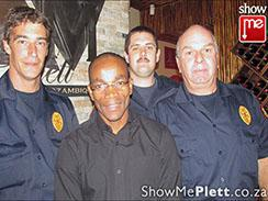 Plett's heroic firefighters honoured at LM Lunch