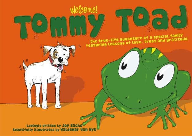 Tommy Toad_Book FR cover