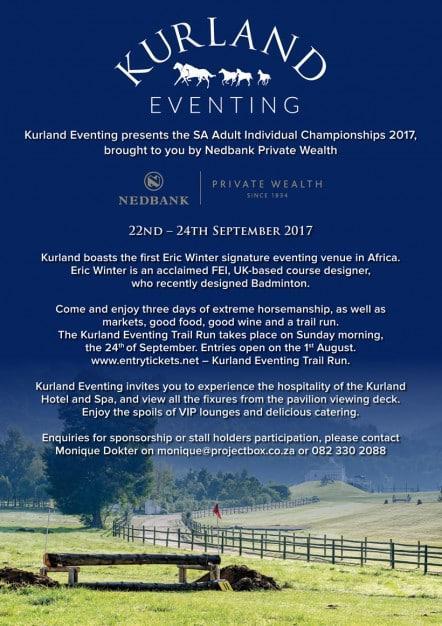Kurland Eventing event