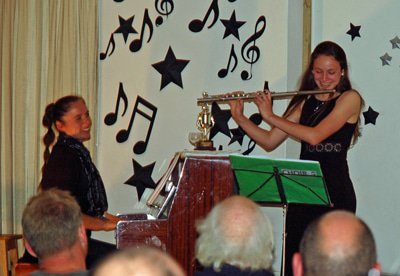 Kate Selfe awarded 'Rollo Scott Music Trophy