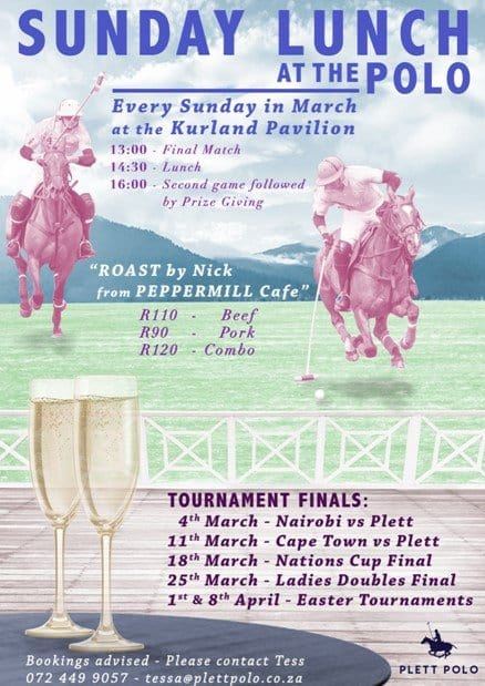 Sunday Lunch Polo
