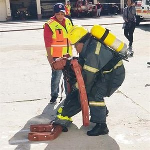 fire fighters get going
