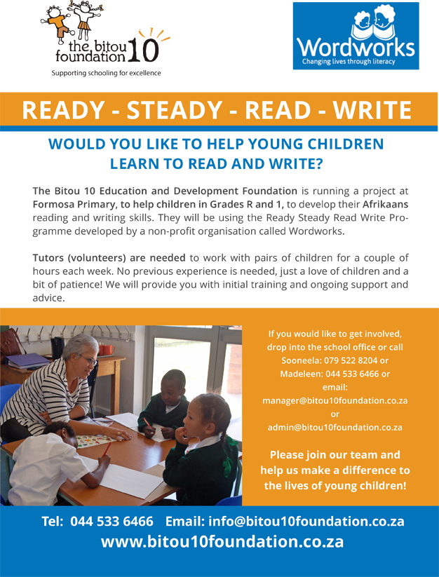 Ready Steady Read Write