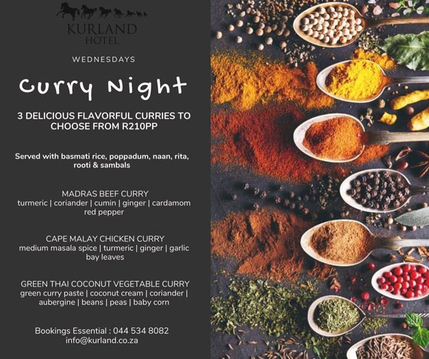kurland Hotel curry special