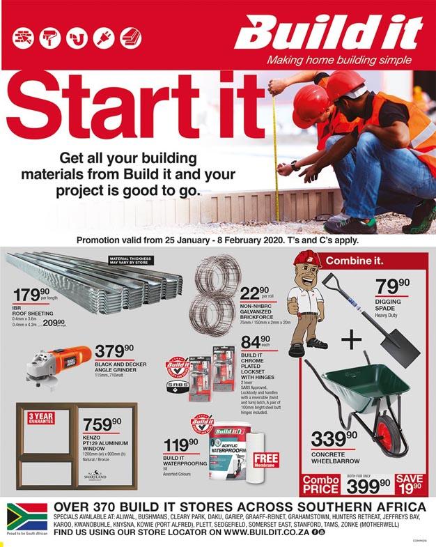 Plett Build It Leaflet
