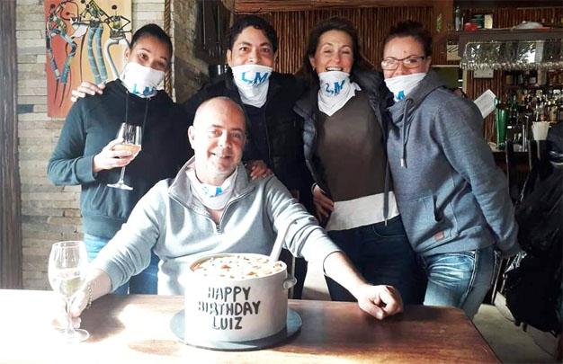 Happy birthday Luiz - plett volunteers