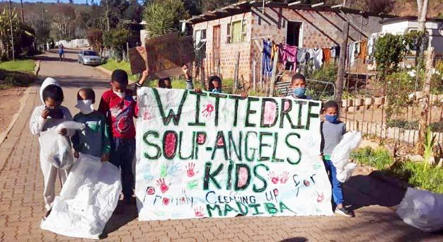 Plett Volunteers Mandela Day Activities, 18th july 2020