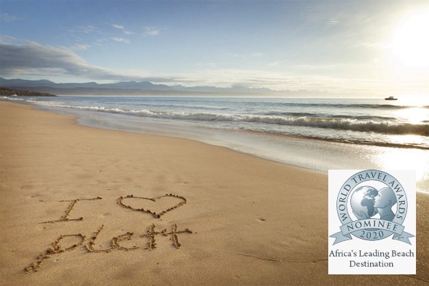 Plett nominated 11th year running as Africa's Leading Beach Destination