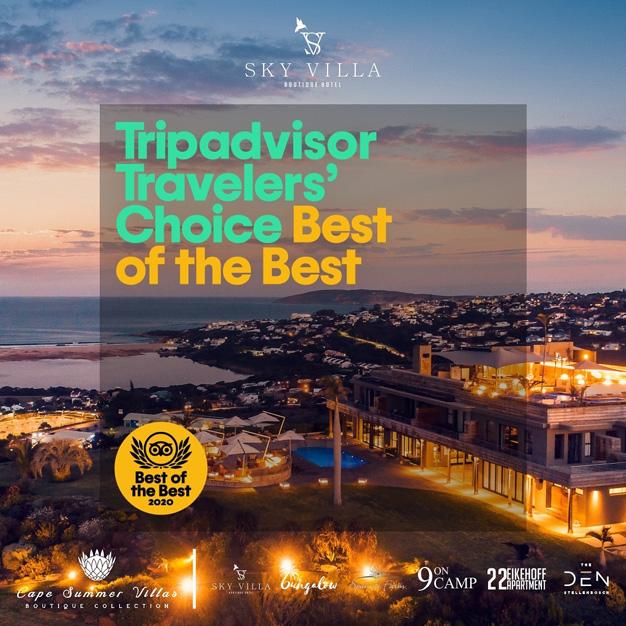 Travellers' Choice Best of the Best Winner