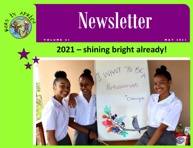 Born in Africa Newsletter May 2021