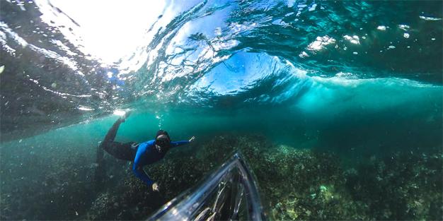 PICS: Central Beach Swim with Garth Ensley