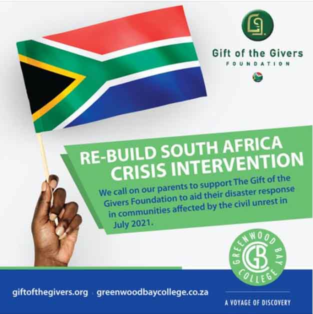 GBC call for Gift of the Givers Foundation support
