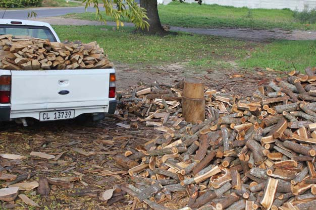 The market for braai wood is growing, but the resource is becoming scarce