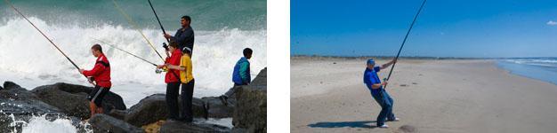 Surf and Rock Fishing Port Elizabeth