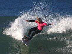 Surfing Port Elizabeth