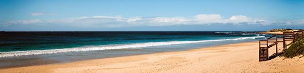 Beach in Port Elizabeth
