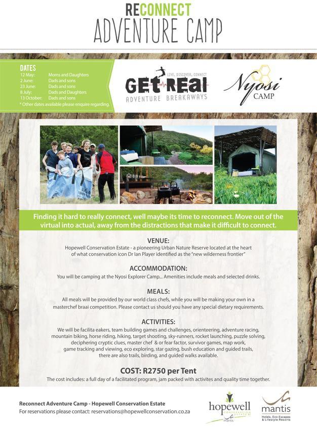 Nyosi Adventure Camp