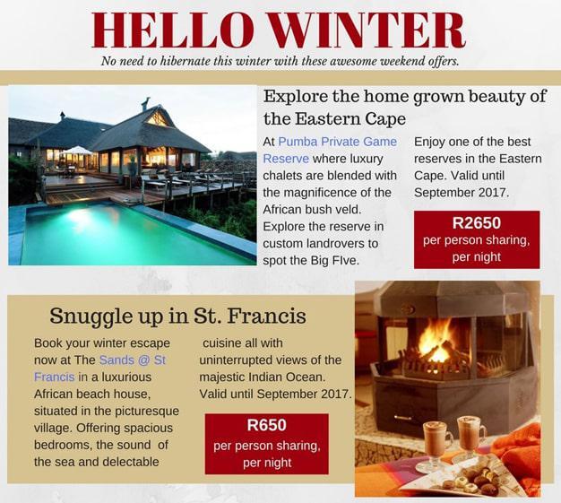 PE Hotels Winter Specials
