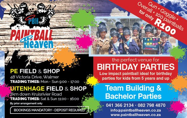 Parties at Planet Paintball