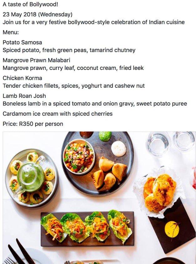 Bollywood - The Food Studio
