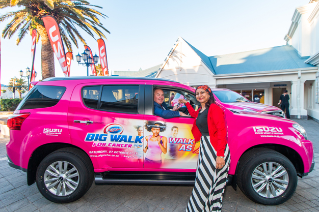Dave Tiltmann the Managing Director from Algoa FM and Gishma Johnson – Corporate Communications Manager – Isuzu