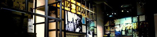 Industrialisation and Urbanisation room inside hapo museum at Freedom Park