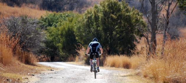 Cycling at Groenkloof