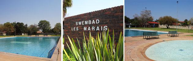 Les Marais Swimming Pool, Pretoria