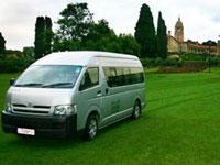 Airport Shuttle services. Ulysses Tours and Safaris.