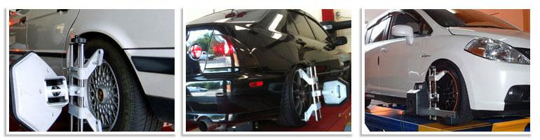 Wheel alignment not only prevents your car from pulling to one side or the other, it also can improve your tire life