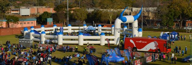 Bulls Pen at Loftus D-Field, with kids corner