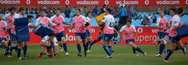 Bulls warming up for Kings match at Loftus