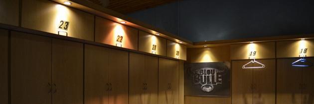 Blue Bulls Locker Room at Loftus, part of stadium tour