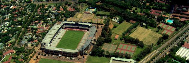 Loftus from above (2005) before new roof