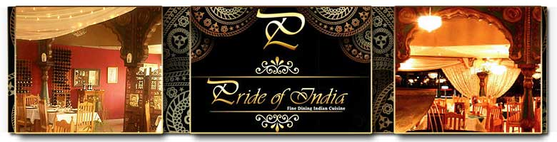 Pride of India, a beautifully appointed restaurant in Pretoria with traditional Indian cuisine.
