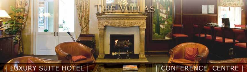 The Villas Luxury Suite Hotel in Arcadia, Pretoria. Luxury Studio accommodation.