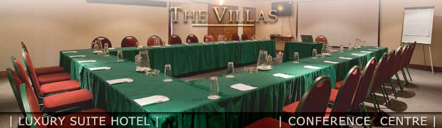 At The Villas Luxury Suite Hotel we offer tailor made conference packages