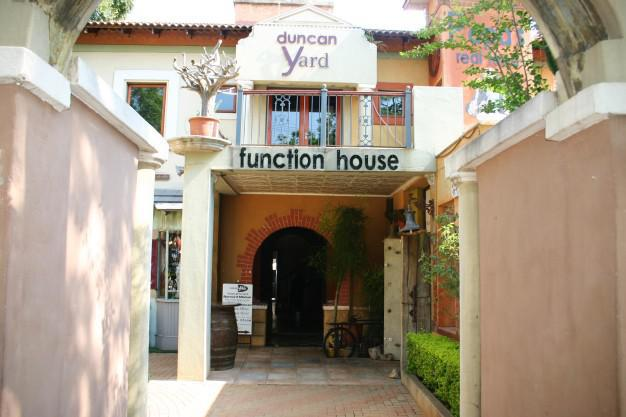 Functions at Duncan Yard, Pretoria