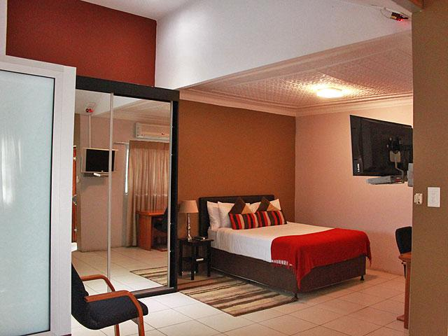 Tram Village Accommodation. Self-catering Units. Room 13
