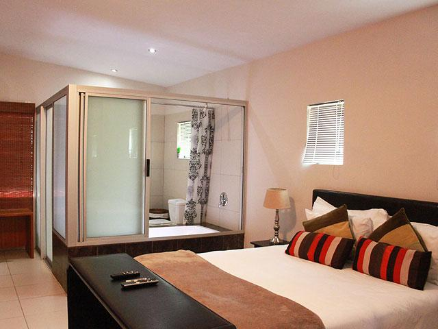 Tram Village Accommodation. Self-catering Units. Room 10