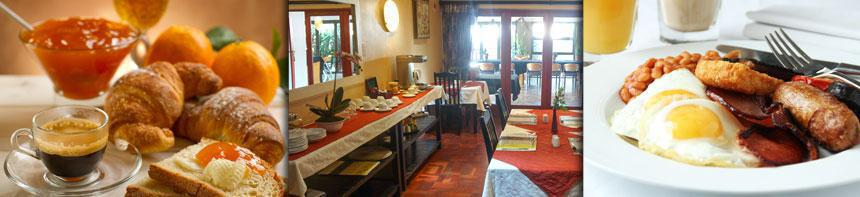 Tram Village offers bed and breakfast including English and Continental