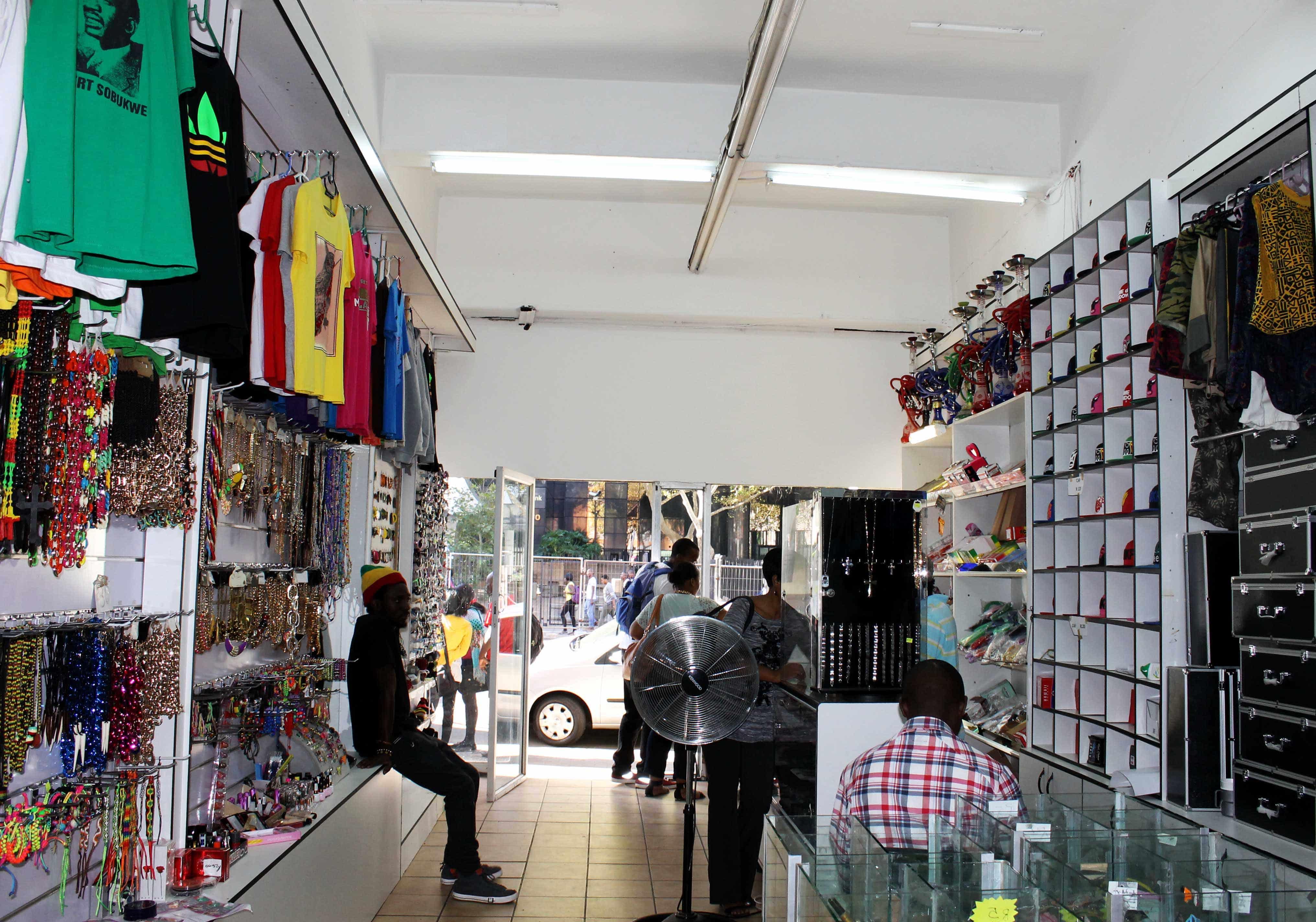 The Rasta Shop Down Stanza Bopape Street Pretoria