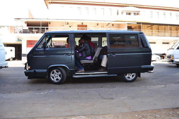 Mini bus taxi