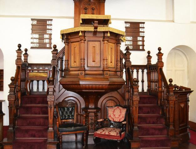 Inside the Gereformeerde Kerk