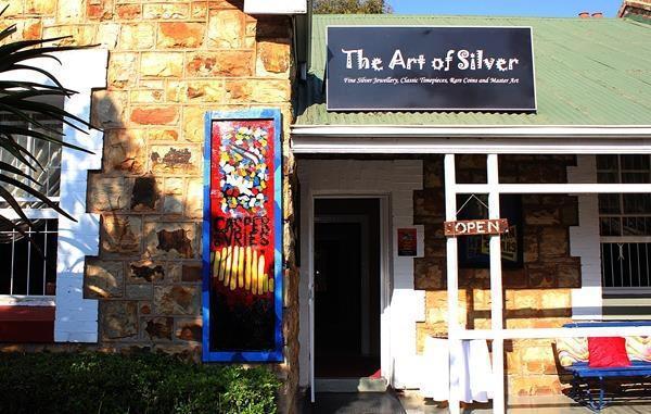 Casper De Vries Art Exhibition at The Art of Silver, Cullinan.