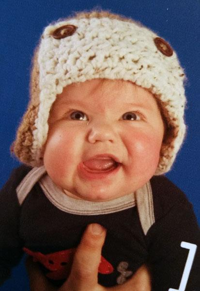 a baby photo competition, with a