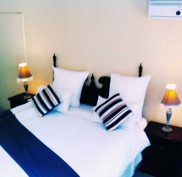 Rooms at Jemea Guest House are spacious, elegant and exquisite