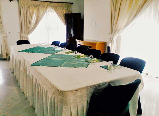 Conferencing at Jemea Manor Guest House