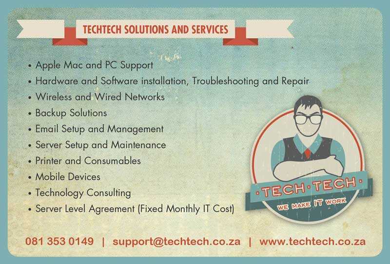 Tech-Tech Solutions and Services