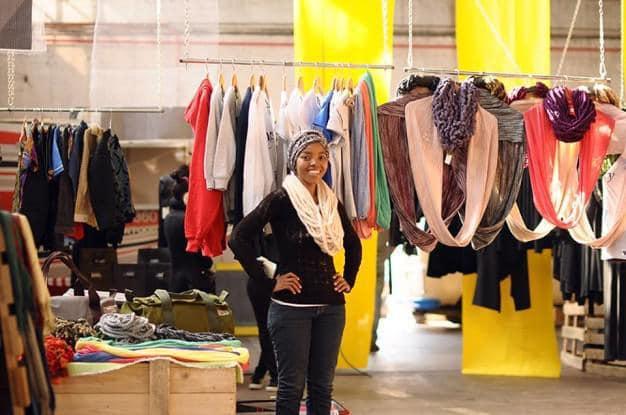 Azania Zulu at Market on Main in Pretoria CBD, 012 Central